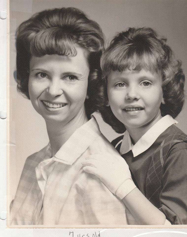 Jean and Valerie about 1964