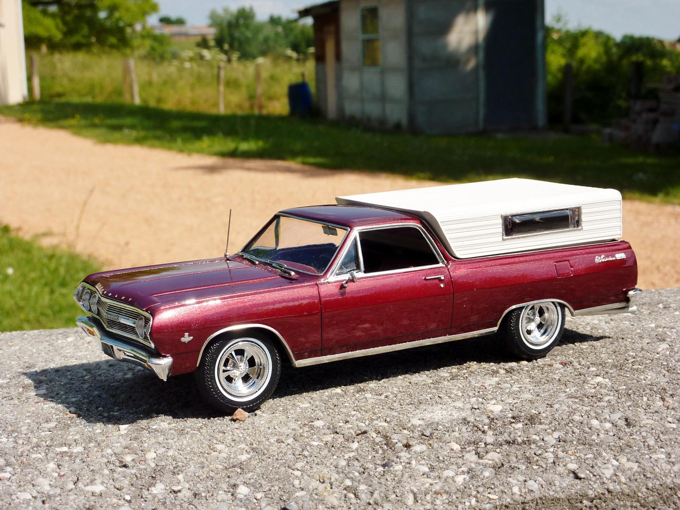 Dodge A 100 pickup avec remorque terminé Photo15-vi