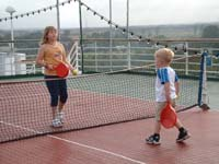Deck Tennis - Beverley & Howard