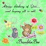 BumbleBee  Sew thinking of you