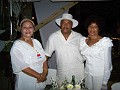 L'ambassadrice de la Culture de Jacmel Mrs Michaelle Craan in the company of Mr and Mrs Lataillade,