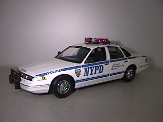 1997 Ford Crown Victoria NYPD