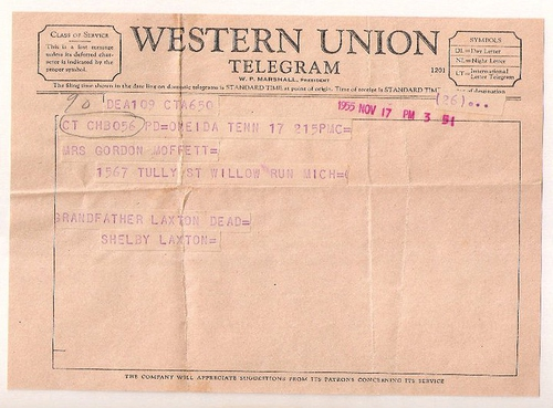 202-Telegram dated Nov 17, 1955.