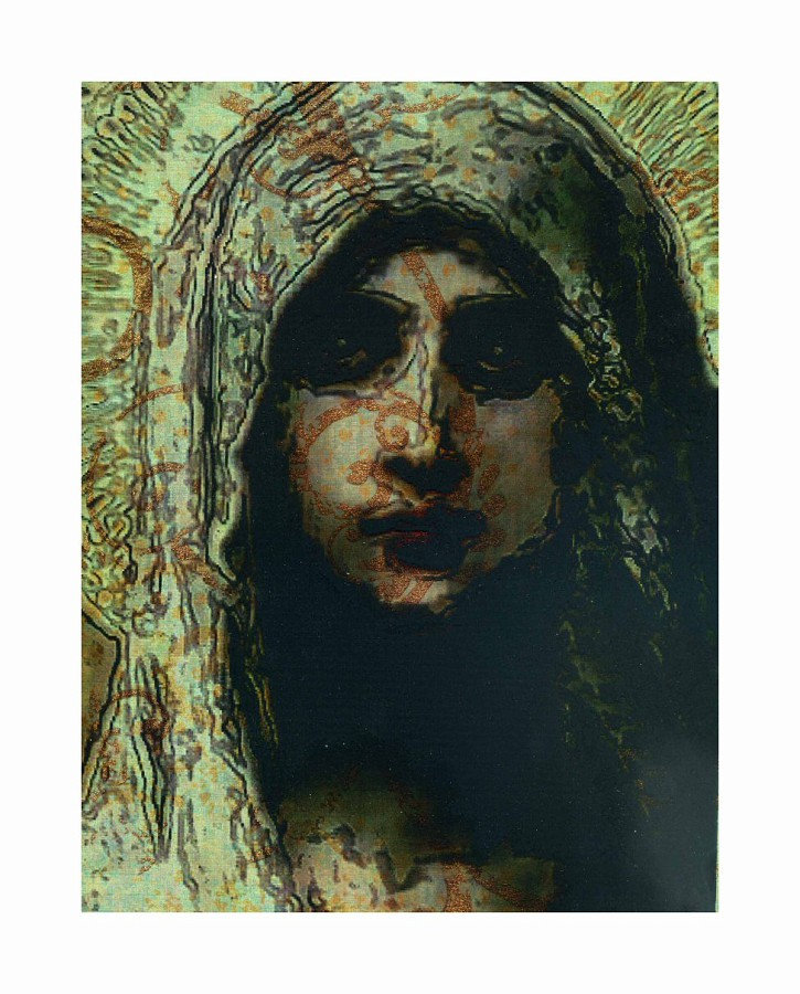 The Green Madonna w Bronze @2010 R valerie jagiello