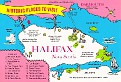 NOVA SCOTIA - Halifax Map