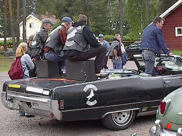 Crowded convertible