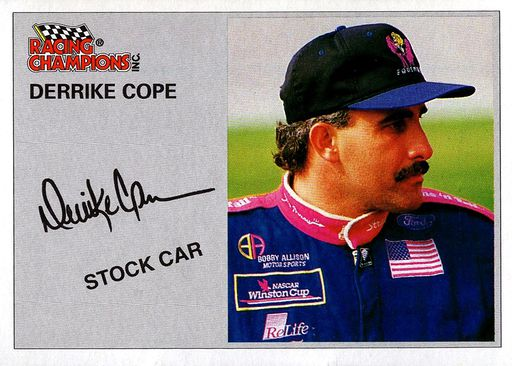 """NASCAR Ray Evernham SIGNED 2017 Promo//Hero Card Autographed /""""Ghost/"""""""
