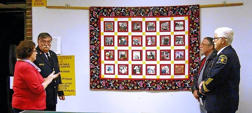 2015-6-01 WINDSOR LOCKS HERITAGE WEEK - FIREFIGHTERS QUILT - PRESENTATION - 06