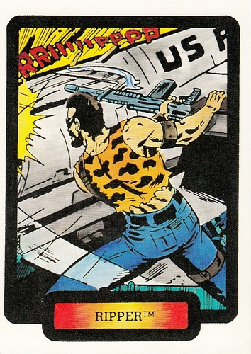 1987 Comic Images GI Joe #29 (1)